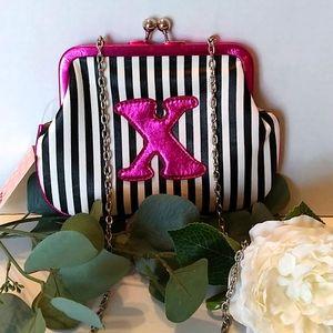 Melie bianco Pink X Crossbody  bag